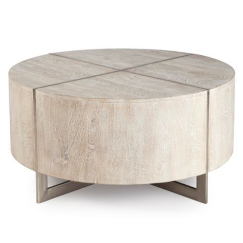 Clifton Round Coffee Table From Z Gallerie