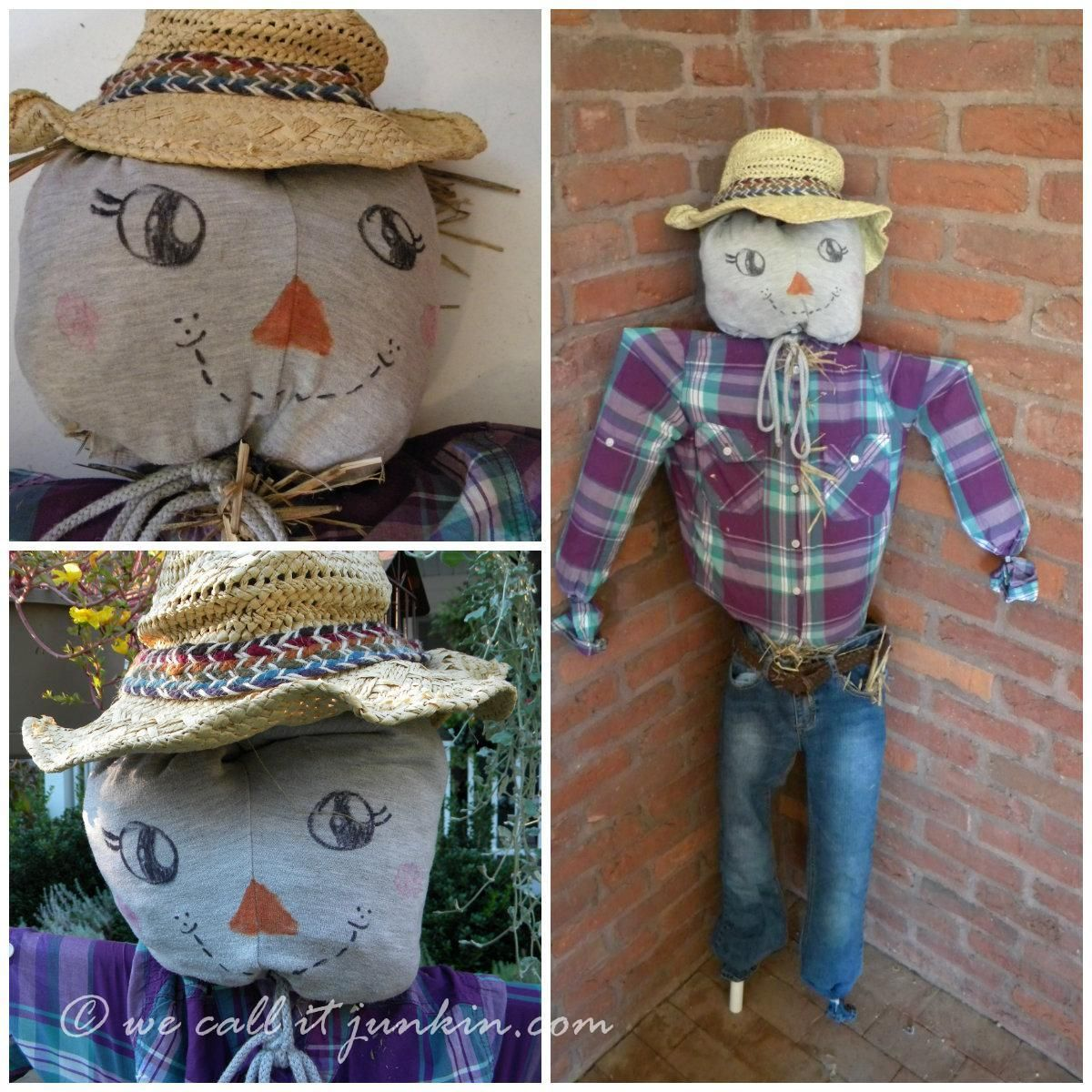 Diy Don T Buy A Scarecrow Make One