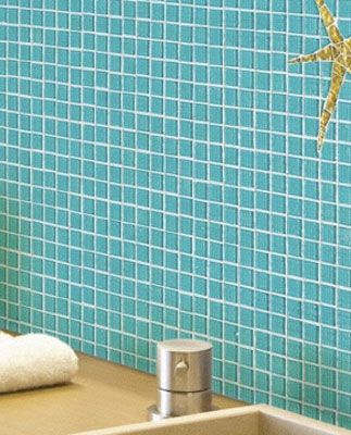 Opiocolor, brique de verre, verre dans la salle de bains deco