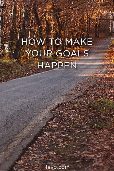 How to make your 2016 goals happen. @levoleague www.levo.com