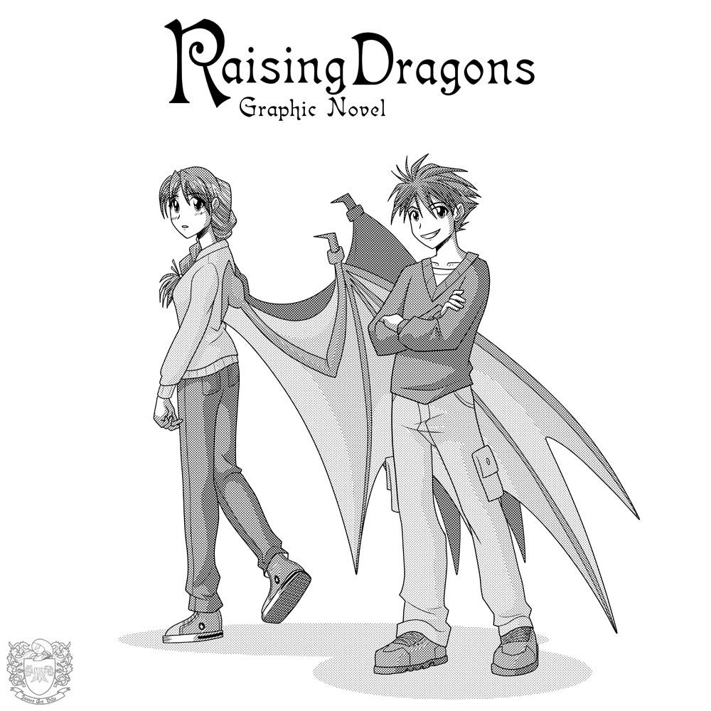 The Raising Dragons Graphic Novel Is Aic Book As I Am An American  Illustrator