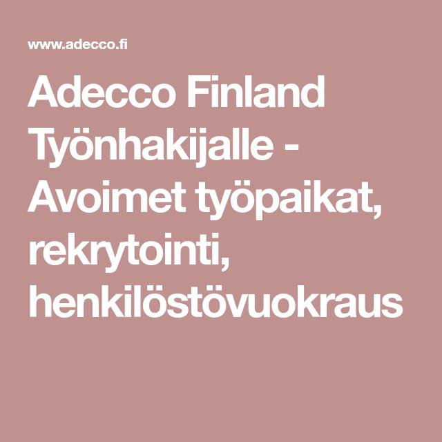 Visit Finland Työpaikat