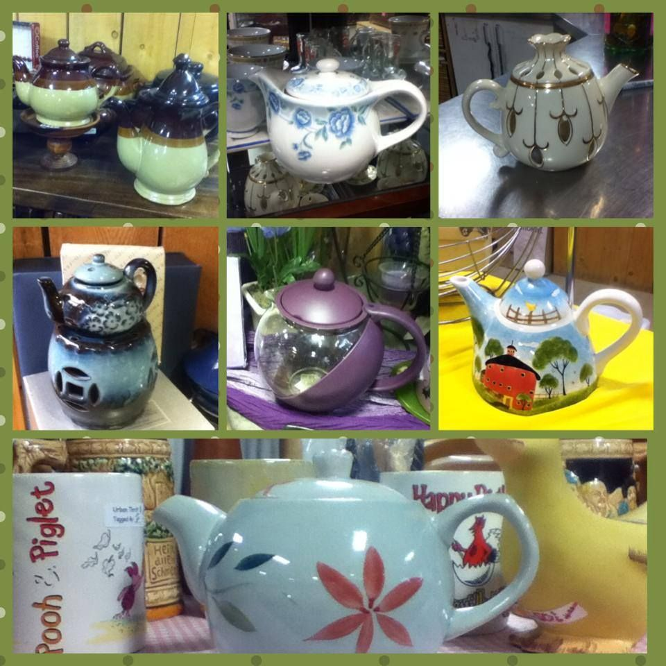 Tea pot collector? We've got several in  store right now to add to your collection!   the magic of the best social media management Calgary style http://www.pinterest.com/arcreactions/real-estate-architect-developers-arc-reactions/