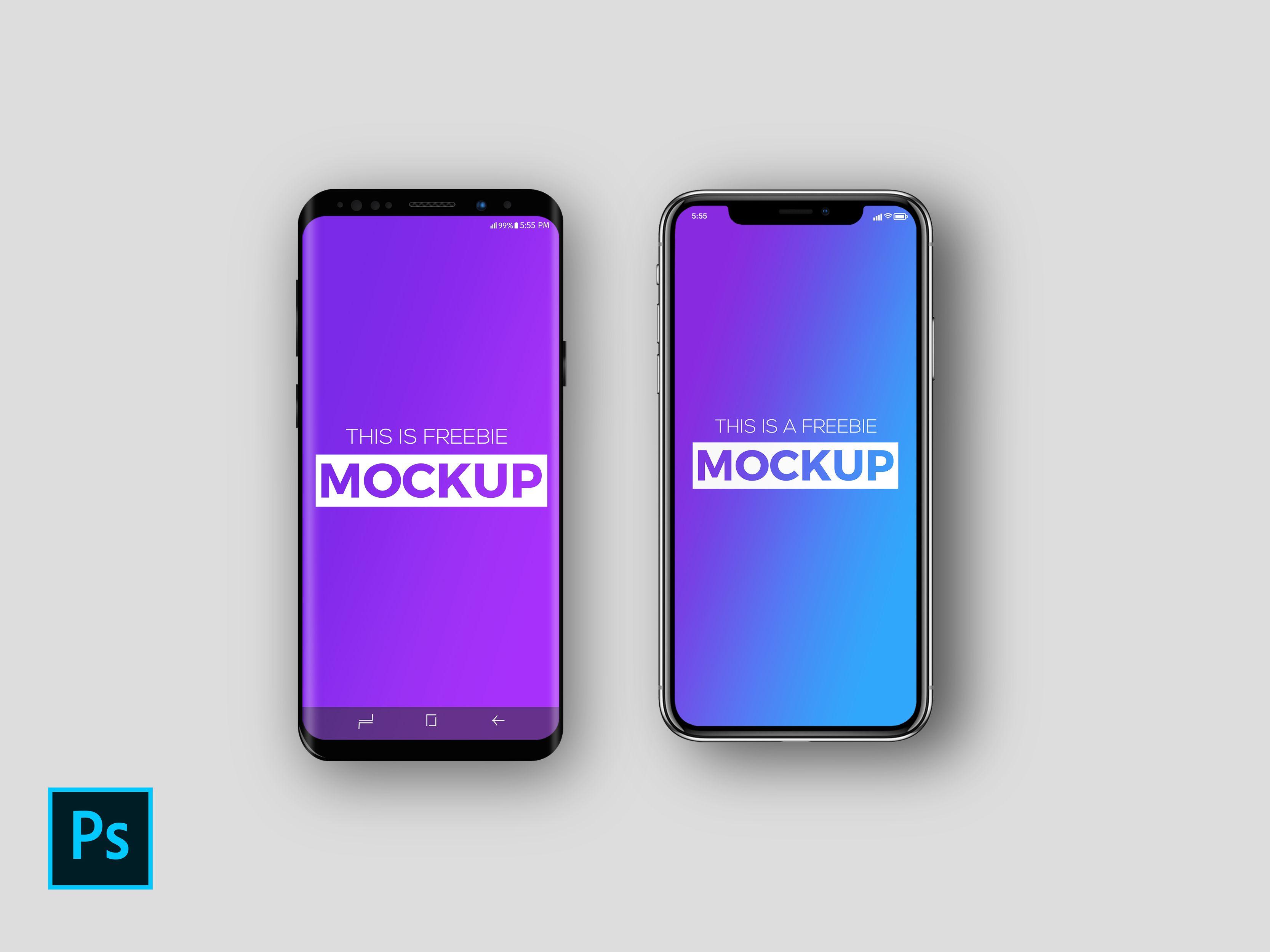 Iphone x max mockup
