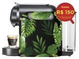 Cafeteira Expresso 19 Bar Delta Q Evolution - Qool Tropical Preto e Verde