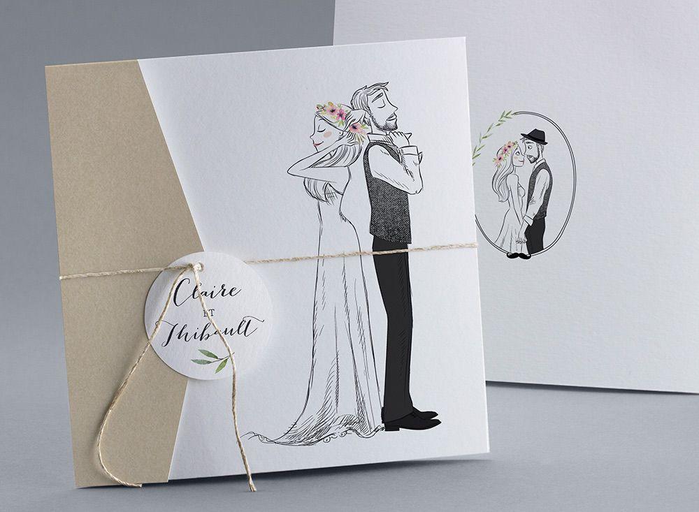 faire part mariage carte mariage