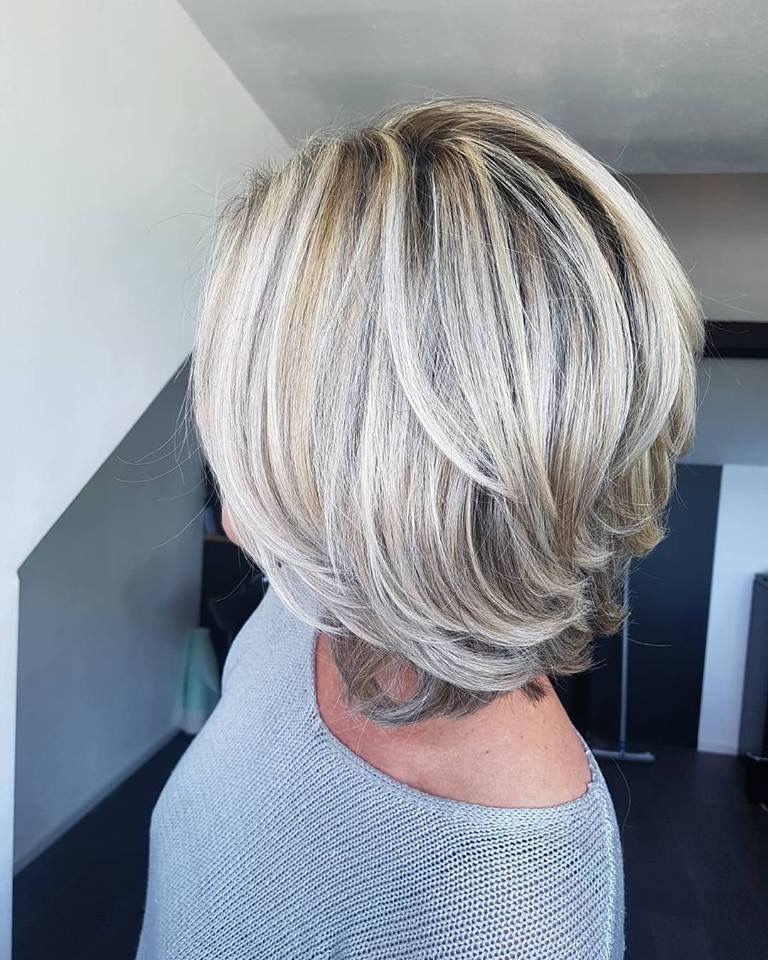 Going Gray Layered Haircuts For Women Hair Styles Short