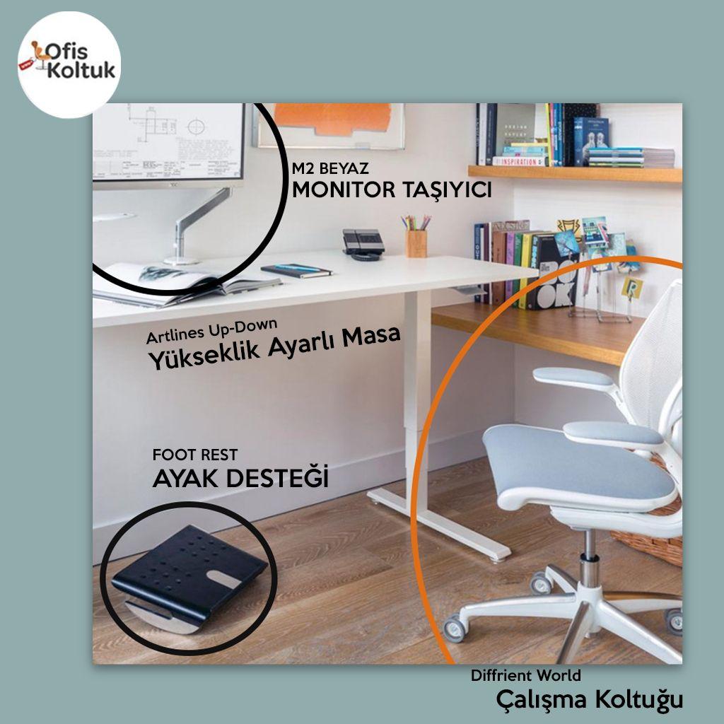 Çalışırken  veya evdeyken ergonomi ve rahatlık . Daha fazlası için sitemizi ziyaret edebilirsiniz.  #arc #architect #ofisdizayn #ofishalı #içmimar #mimaridekorasyon #atecozemin #içmimarlık #dekorasyonfikirleri #mimariproje #interiordesign  #ofistasarım #ofismobilyaları #ofismobilyasi #dekorasyonfikirleri #dekorasyonönerileri #içmekantasarımı #ergonomik #ergonomi #ergonomicdesign #instadizayn #ortopedivetravmatoloji #ortopedi #çalışmamasası #çalışmaodası #çalışmakoltuğu #monitörkolu #ofiskoltuk