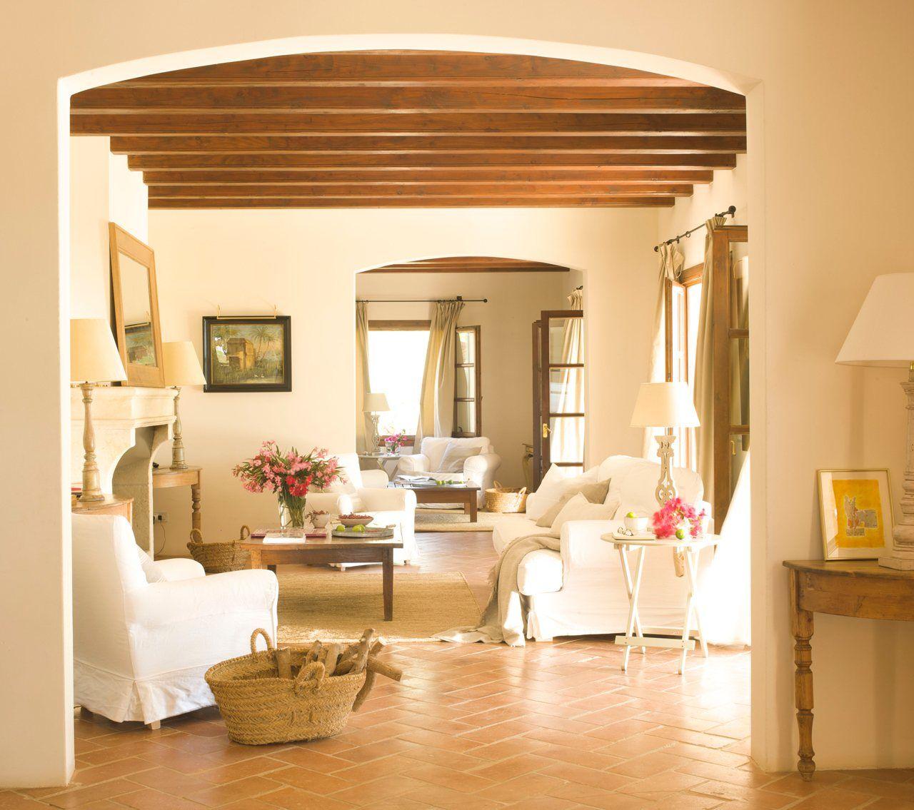 15 salones r sticos para disfrutar salones r sticos - Salones rusticos ikea ...