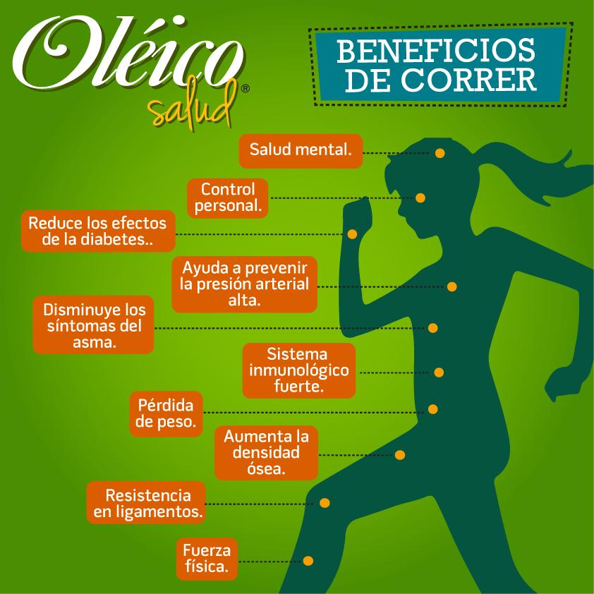 """""""BENEFICIOS DE CORRER""""  #Salud #Ejercicio"""