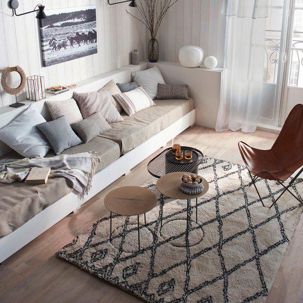 le style ethnique chic d crypt salons living rooms pinterest tapis kilim ethique et. Black Bedroom Furniture Sets. Home Design Ideas