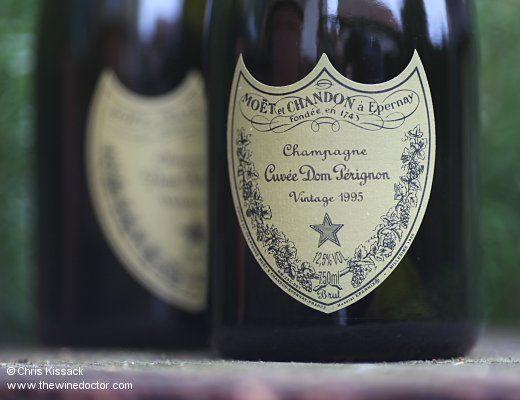 Dom Pérignon 1995 and 1996