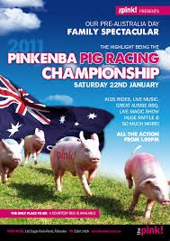 pig racing poster - Google Search