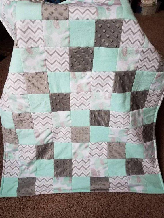 Make A Custom Blanket.Quilt Blanket Baby Quilt Baby Blanket Custom Quilt