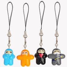 Ninjatown Zipper Charms <3