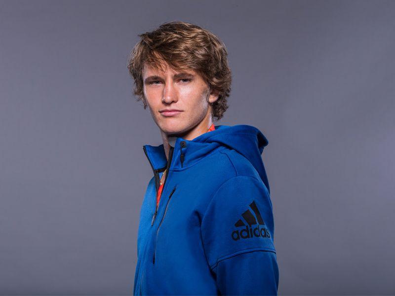 Alexander Zverev of Germany