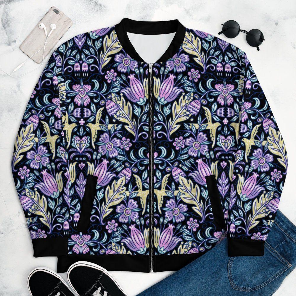 Unisex Boho Chic Floral Paisley Bomber Jacket Retro Vintage Etsy In 2021 Bomber Jacket Fashion Jacket Style [ 1000 x 1000 Pixel ]