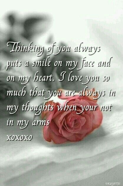 Thinking Of You Romantic Love Poems Love Quotes For Girlfriend Romantic Quotes
