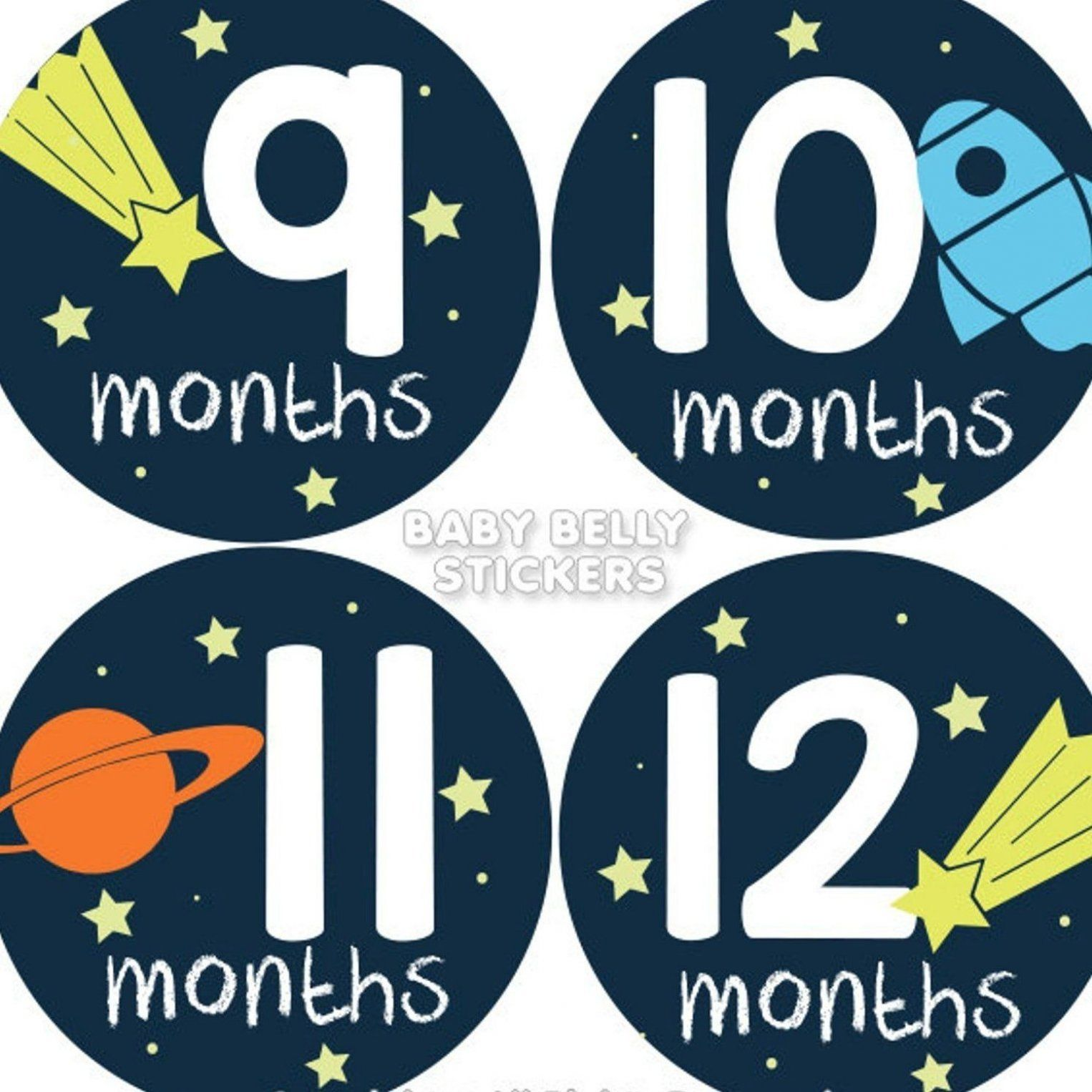 Baby Month Stickers Monthly Baby Stickers Bodysuit Stickers Etsy In 2020 Baby Month Stickers Month Stickers Baby Month By Month