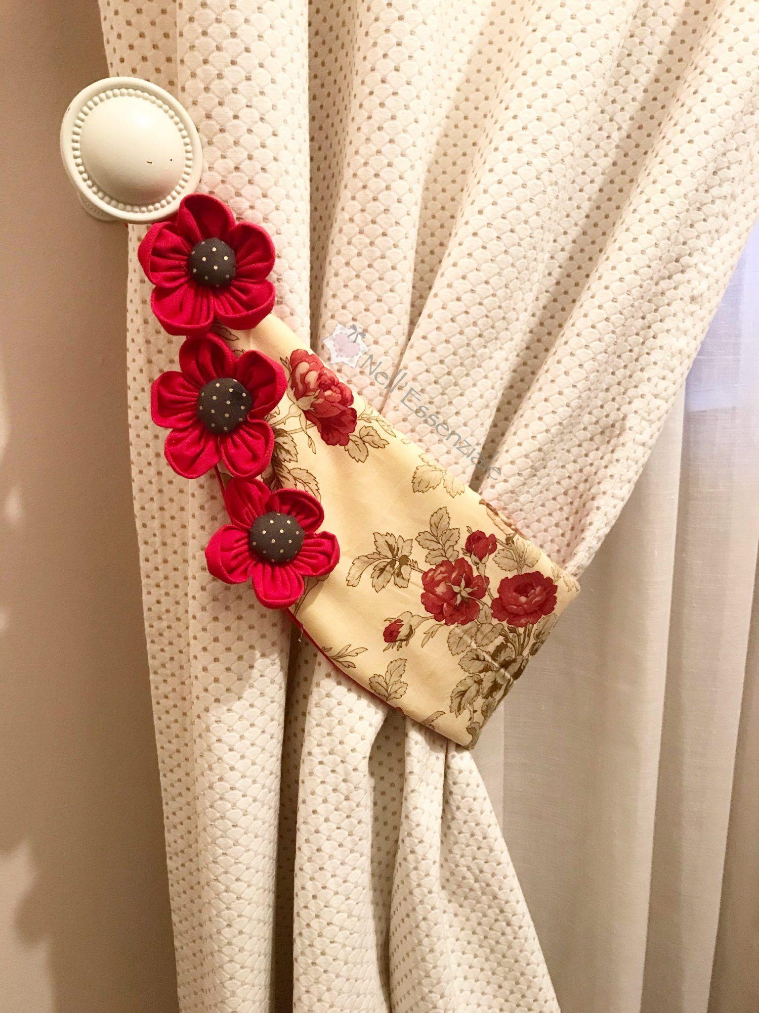 Come fare un embrasse per tende in stoffa | uncinetto ...