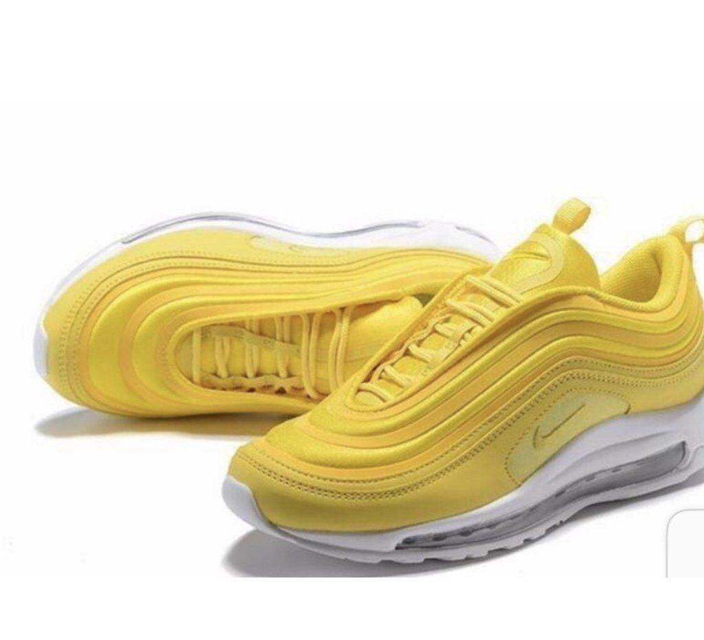 Yellow Air Max 97 | Betsy en 2019 | Zapatos nike, Nike air