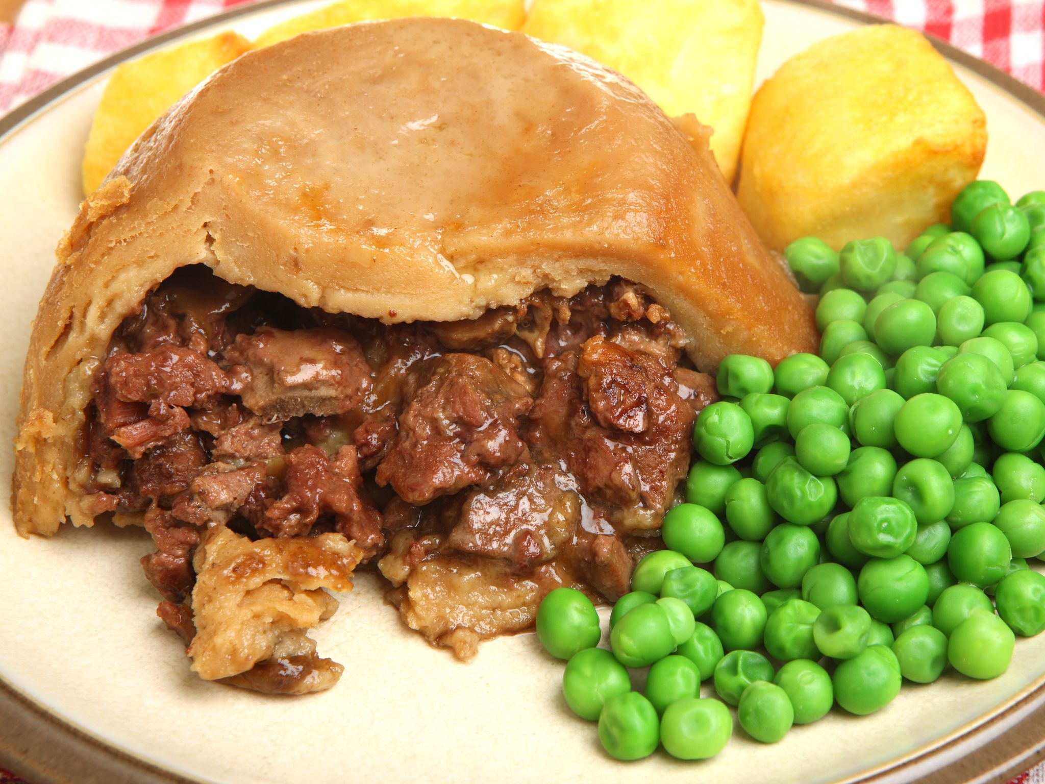 Steak and kidney pie is made with lamb or pork kidneys ...