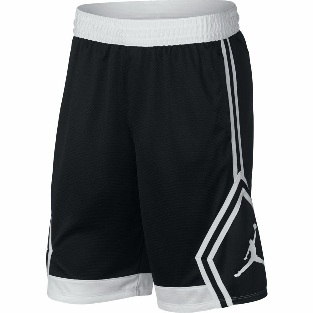 1e15da1d98030a NIKE Men s Jordan Rise Diamond Basketball Shorts NEW 887438 013 Black Small   Nike  Athletic  Basketball