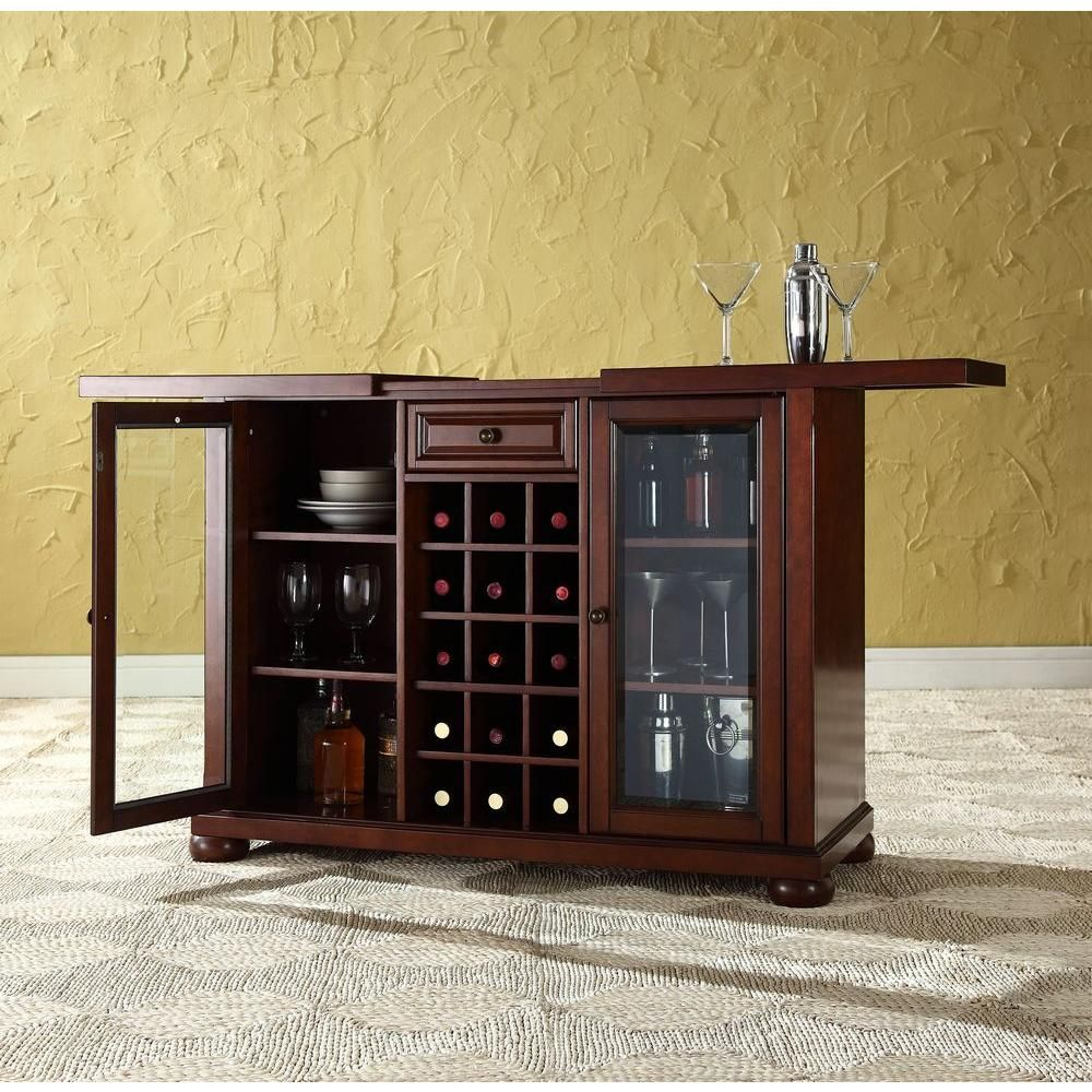 Barschrank Depot Alexandria Mahogany Bar With Sliding Top In 2019 Products