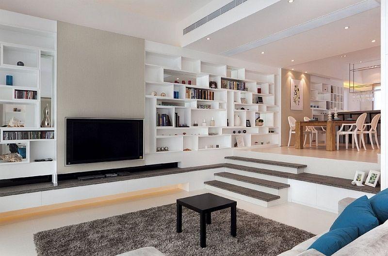 Sunken Living Rooms Step Down Conversation Pits Ideas Photos Sunken Living Room Living Room Remodel Room Design