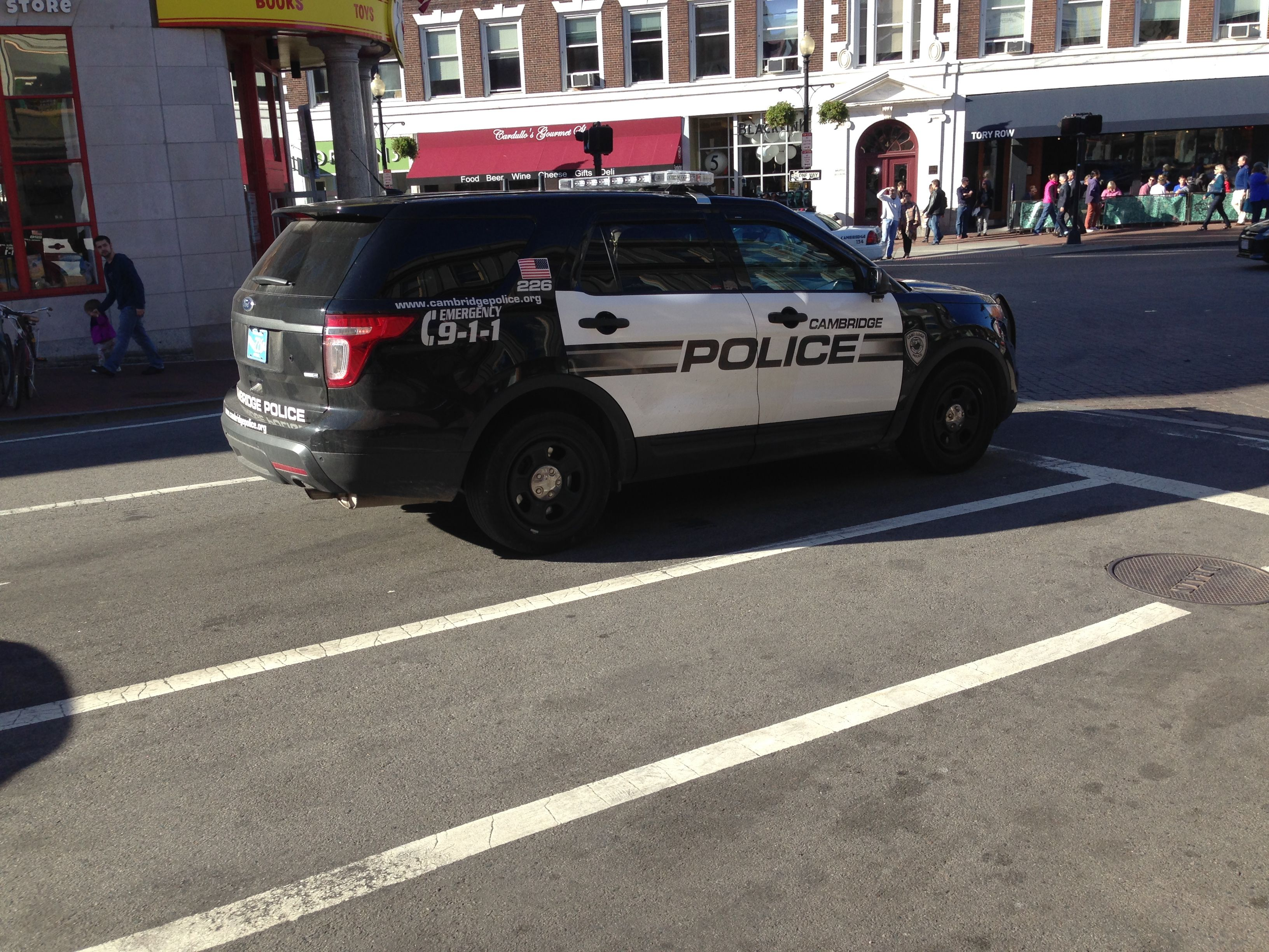 Cambridge Police Department Ford Police Interceptor Suv Massachusetts Ford Police Police Police Cars
