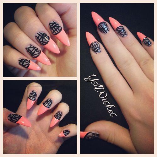 Mountain Peak Nails Nails Pinterest
