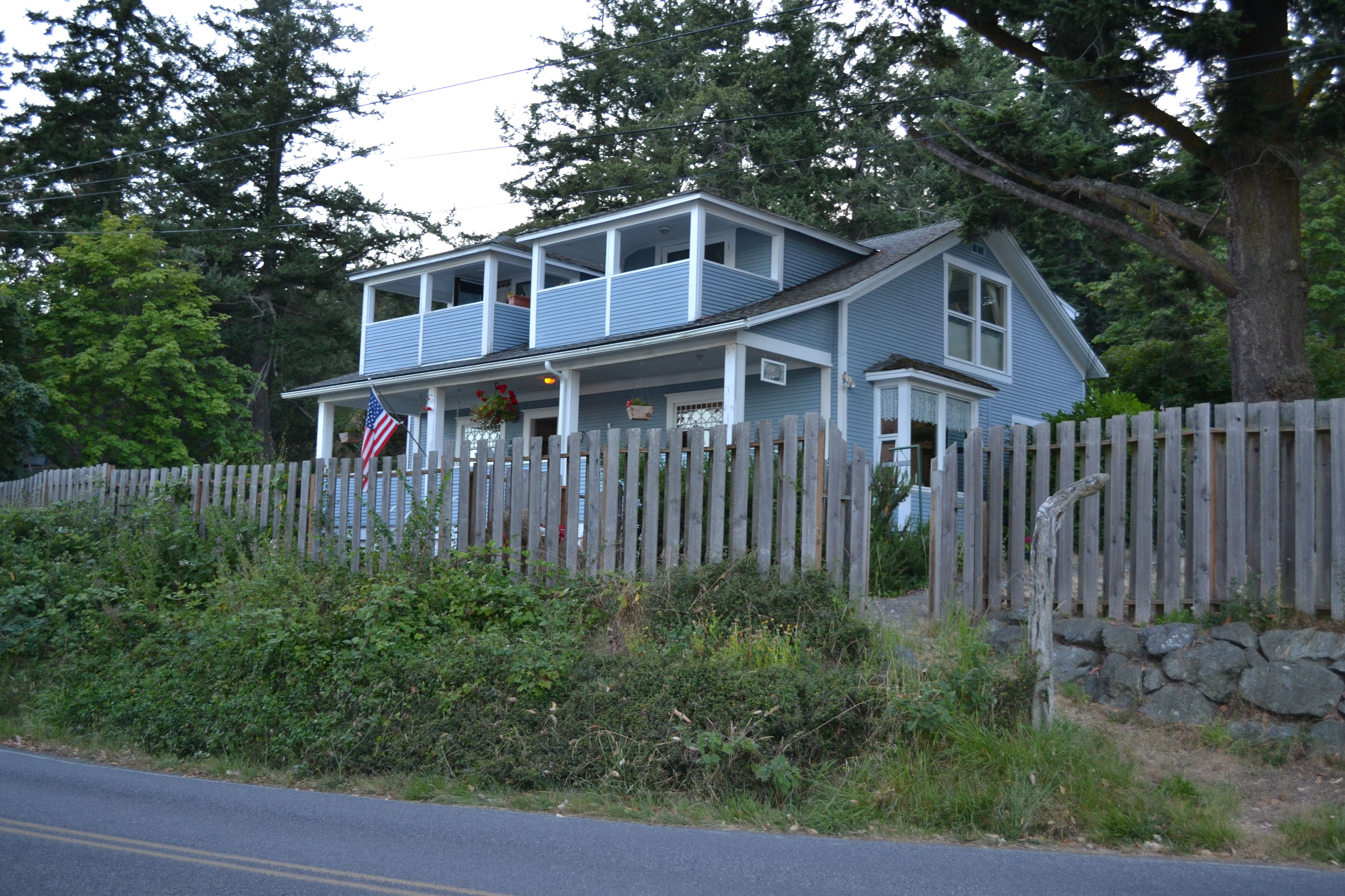 View Of The House From The Street House Styles House Bed And
