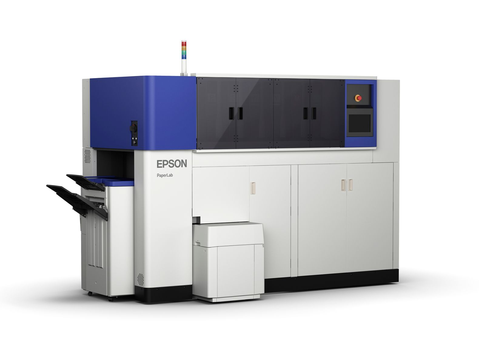 Epson\'s PaperLab can recycle 6,720 sheets of paper in a single workday
