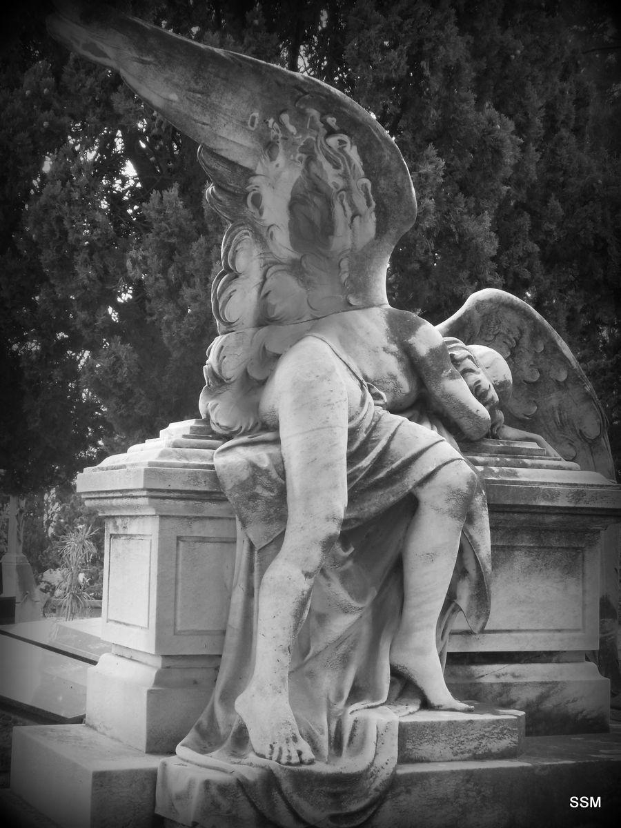"""""""Desesperació"""" Cementiri de Montjuïc Barcelona"""