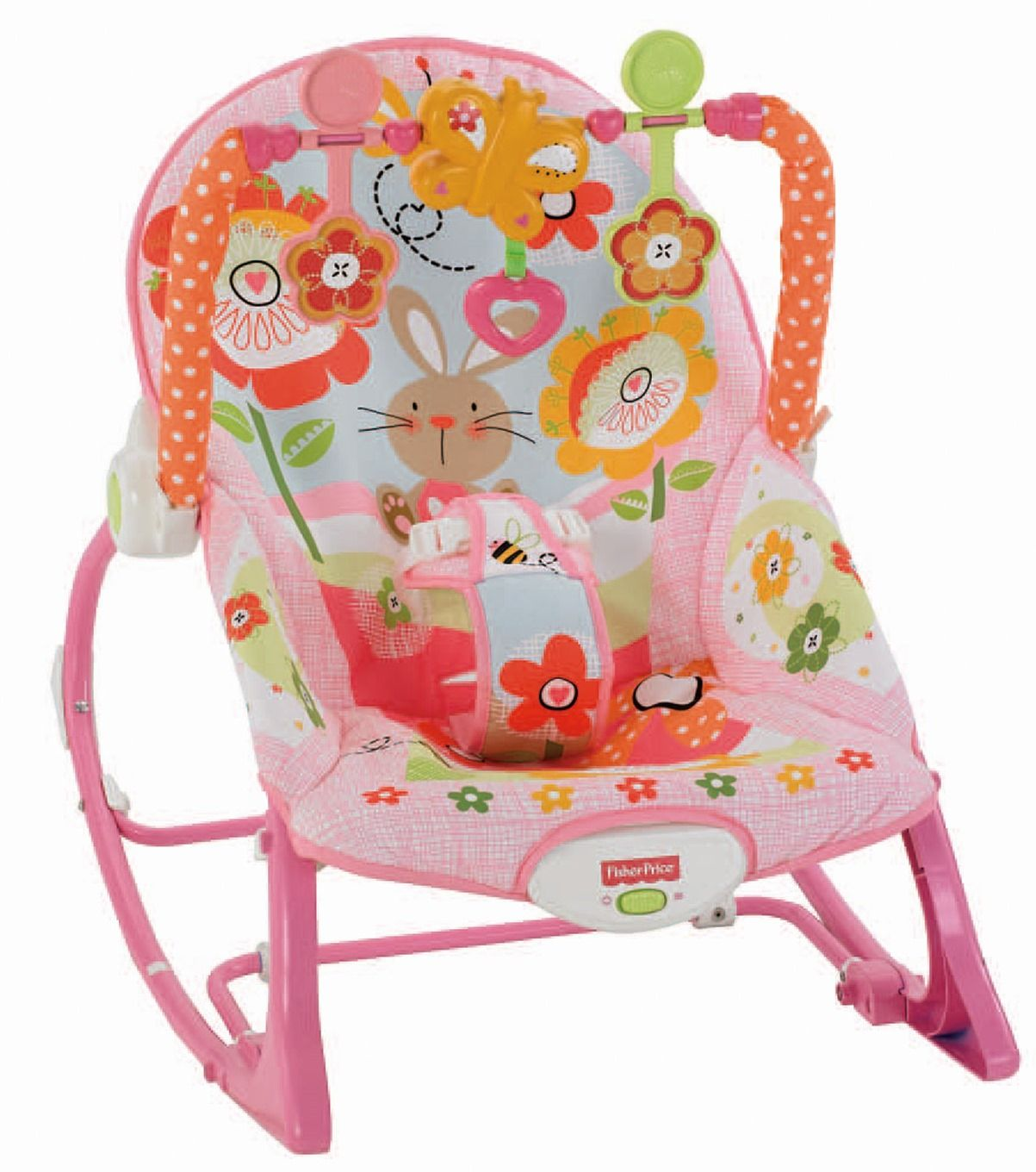 Uncategorized fisher price comfort curve bouncer new free shipping ebay - Fisher Price Infant To Toddler Rocker Bunnies