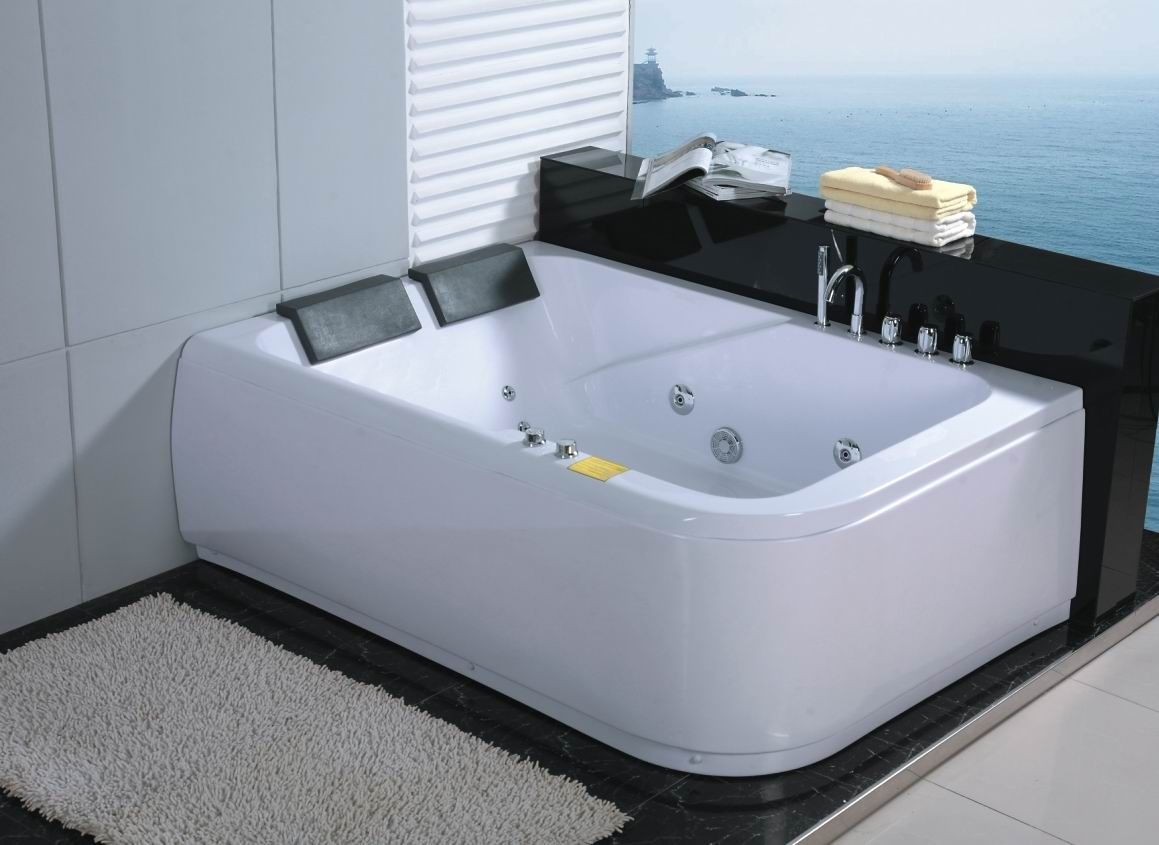 Images : Two Person Tub | HOME IMPROVEMENT | Pinterest | Bathtub ...