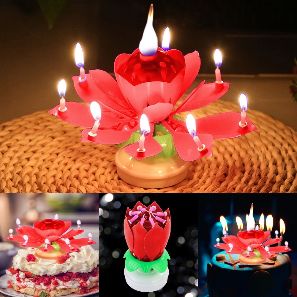 Magic Flower Birthday Candle(BUY 3 FREE SHIPPING