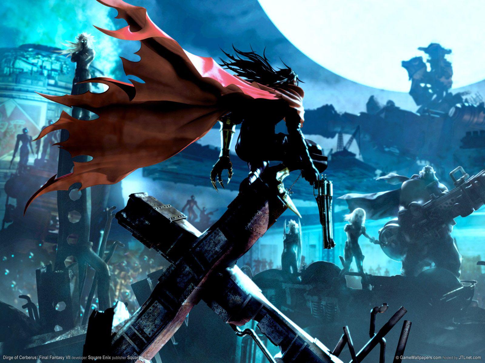 Hellsing Or Trigun Final Fantasy Wallpaper Hd Final Fantasy
