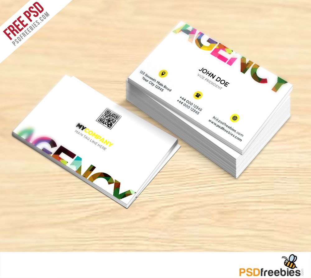 creative business card free psd template psd templates business