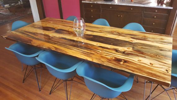 Colorado Beetle Kill Pine Table By Rusticalchemy On Etsy