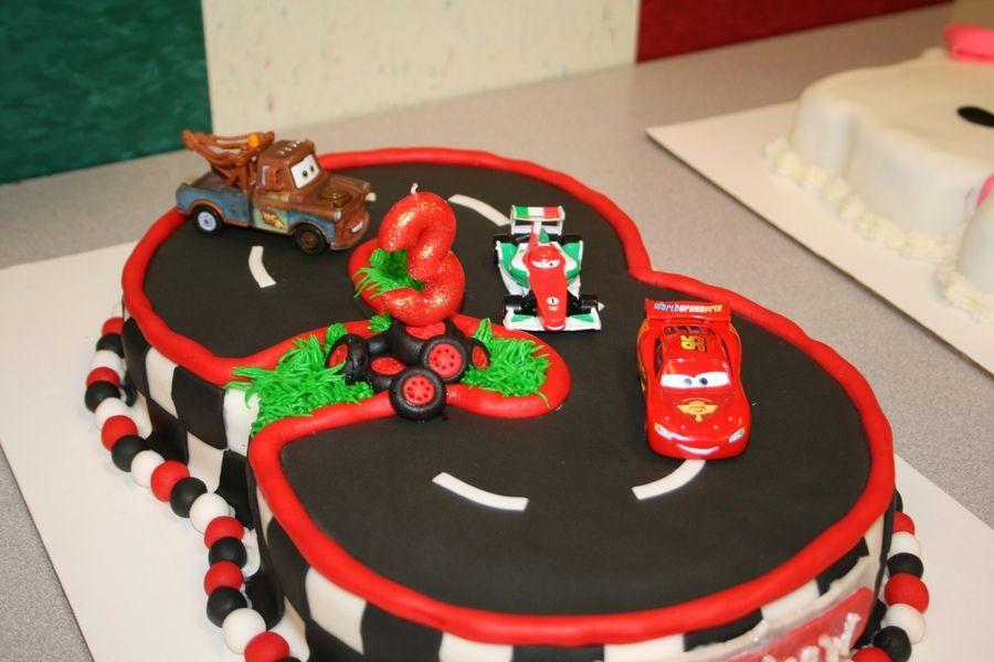 disney cars cake Disney Cars Cake Childrens Birthday Cakes