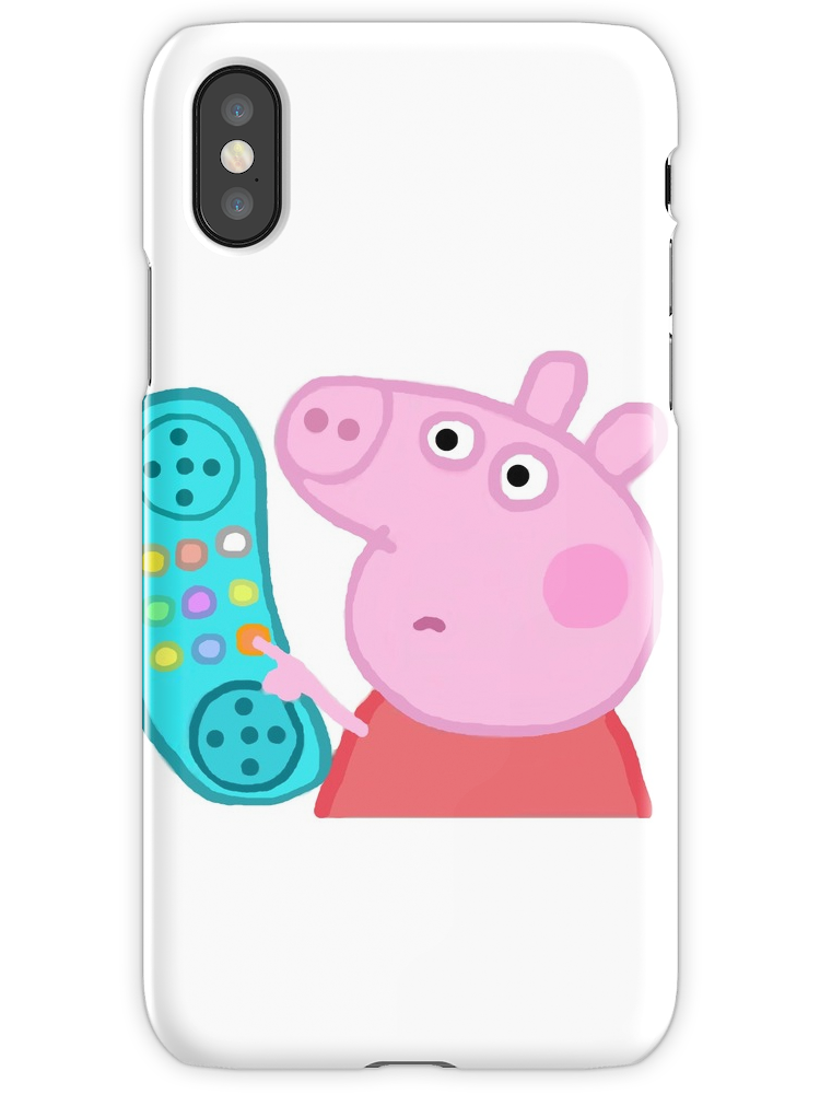 Peppa Pig Hanging Up The Phone : peppa, hanging, phone, Peppa, Hanging, Sticker, IPhone, Iphone, Stickers,, Phone, Cases,, Cases