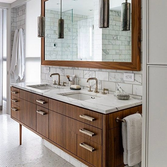 Marmol Wood Madera Bathroom