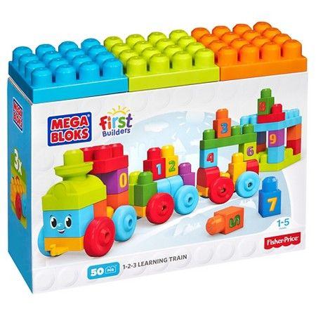 Mega Bloks First Builders 123 Learning Train! : Target  $15