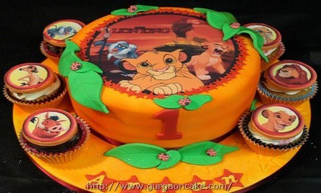 Lion King Birthday Cake Toppers Birthday Cake Pinterest Lion