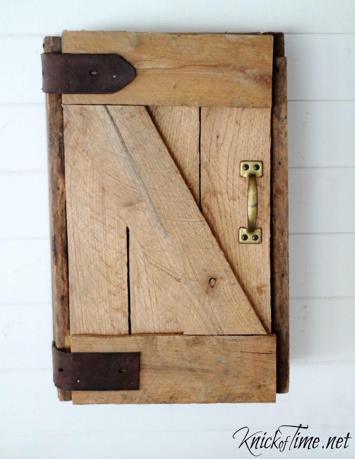 My Dream Barn Door In Mini Version For The Home Diy
