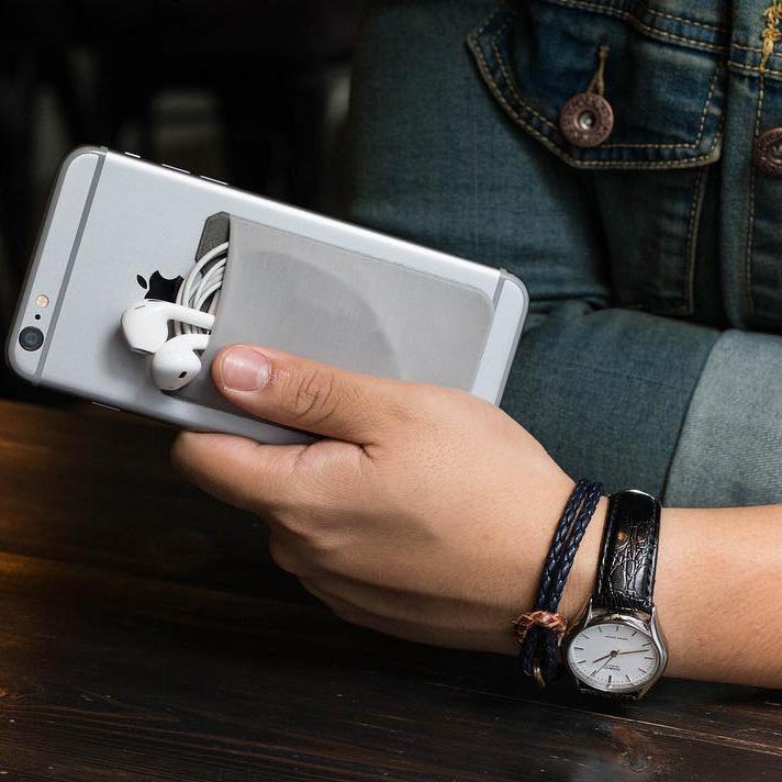 Adhesive Phone Pocket #inspireuplift explore Pinterest