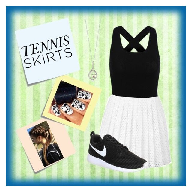 """Tennis Outfit"" by rileyadewitt ❤ liked on Polyvore"