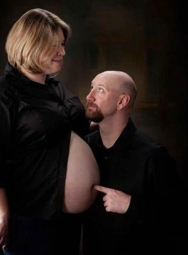 The 31 #Awkward #Pregnancy Photos Will Make You Feel Incredibly Uncomfortable