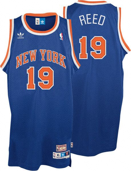 f1124225655e NBA Mitchell Ness New York Knicks 19 Willis Reed Swingman Throwback Blue  Jersey  21.99